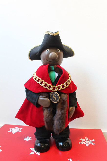 Mayor Figure for Albourne Partners Christmas Grotto