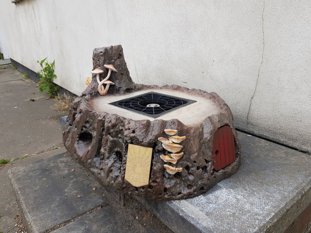 Tree Stump Beer Dispenser for The Cauldron NYC
