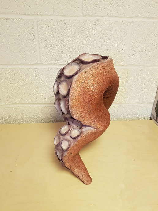Tentacle Faux Taxidermy for The Cauldron NYC