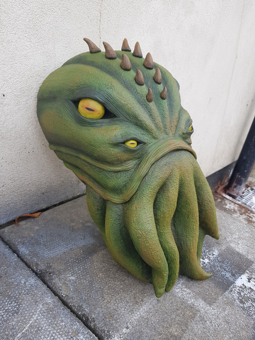 Cthulhu Faux Taxidermy for The Cauldron