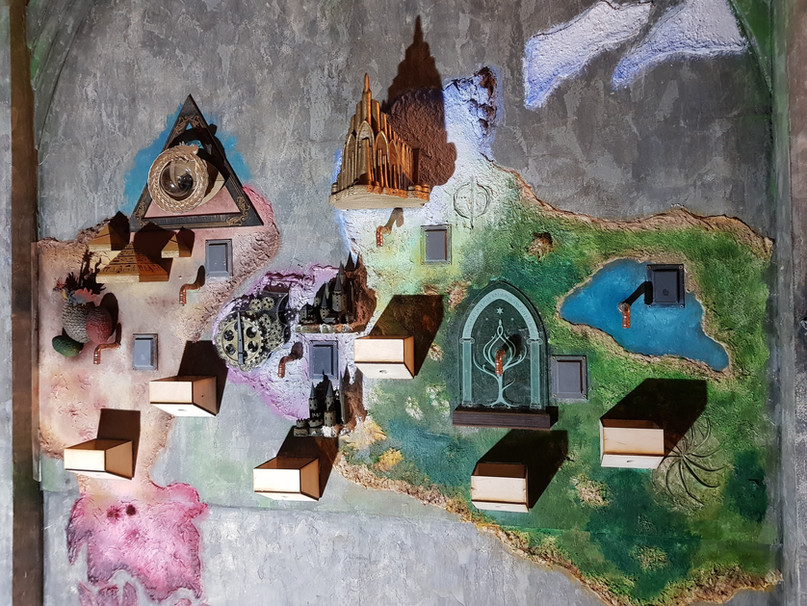 Interactive 3D Map for The Cauldron London