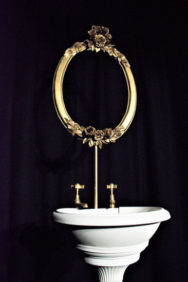 Ornate Freestanding Sink Props for The Grand Hotel (University Production)