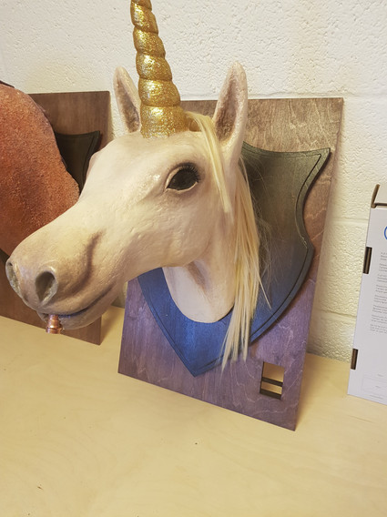 Unicorn Faux Taxidermy Cocktail Dispenser for The Cauldron
