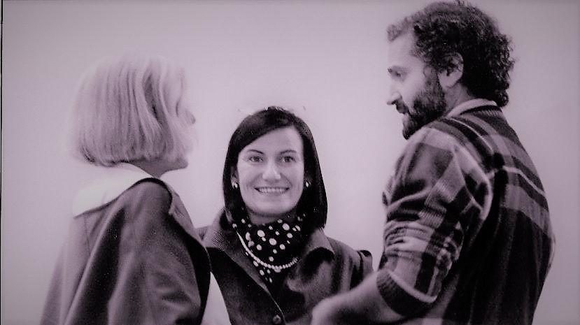 ... con Tersilla Giacobone e Gianni Versace