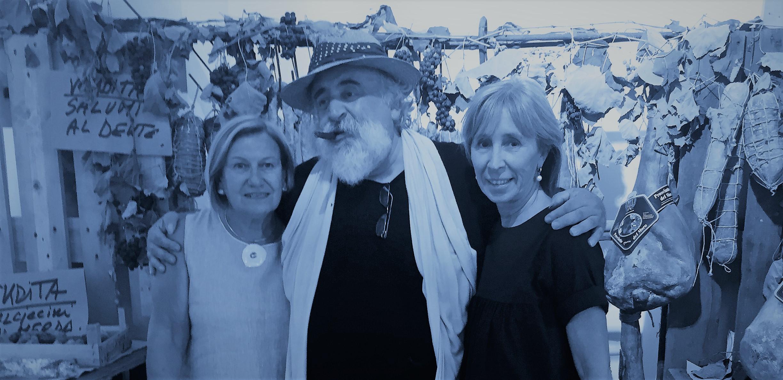 ... con  Il Moro e Patrizia Sacchi