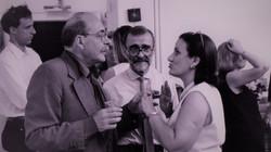 ... con Ugo La Pietra e Paolo Martiradonna