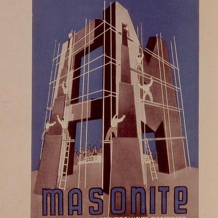 Tavola pubblicitaria Masonite