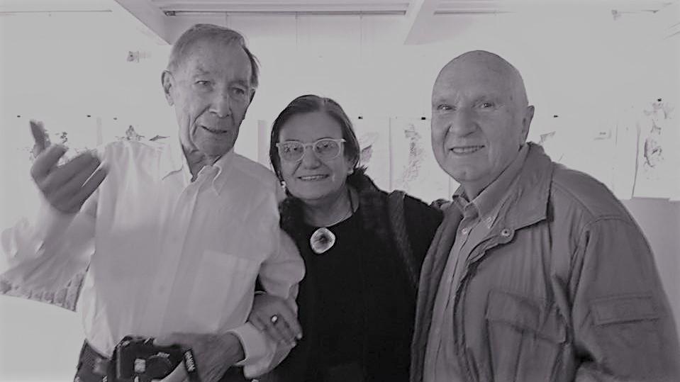 ... con Giancarlo Illiprandi e Massimo Dradi