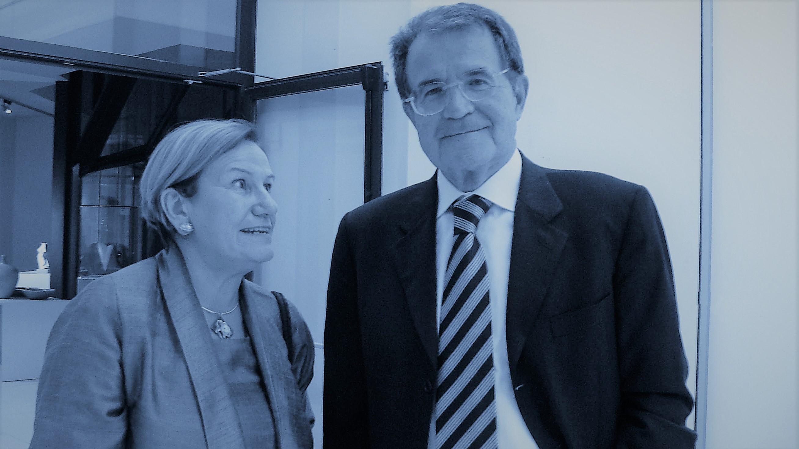 ... con Romano Prodi