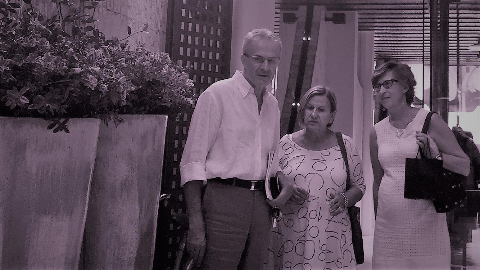 ... con Ennio Nonni e Giovanna Molinari