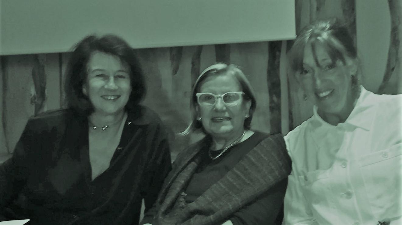 con Luisa Bocchietto e Patrizia Scarzella