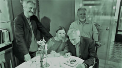 con Germano Zanzani, Giuseppe Furlanis e Roberto Ossani
