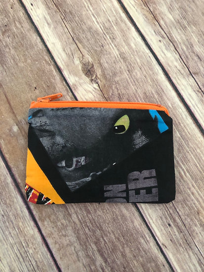 How to Train your Dragon Zipper Pouch - Ready to Ship