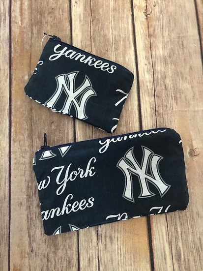 Yankees Zipper Pouch - Ready to Ship