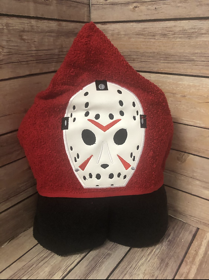 Jason Child Size Hooded Towel - Ready to Ship