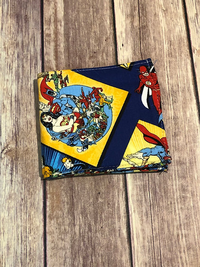 DC Comics themed Men's Bifold Wallet