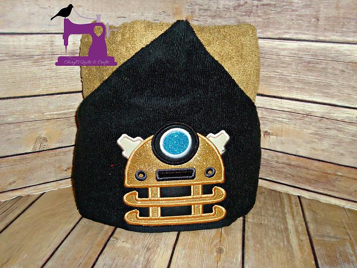 Dr. Who Dalek Hooded Towel