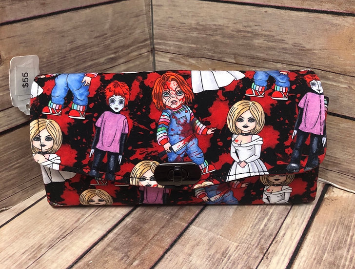 Child's Play themed Necessary Clutch Wallet-Ready to Ship
