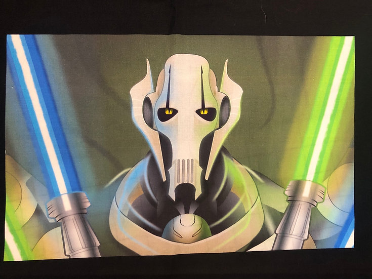 General Grievous Themed Washable Fabric Face Mask - Elastic or Ties