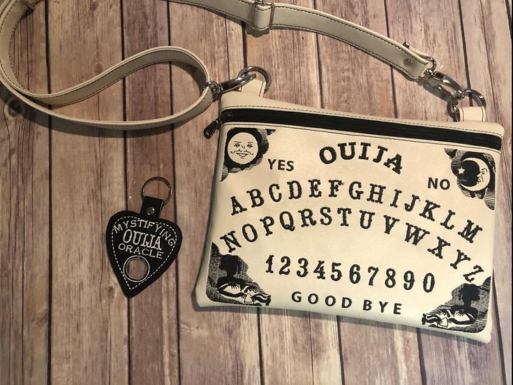 Cream Color Ouija Board Crossbody Bag -MADE TO ORDER