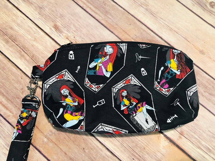 Sally themed Wristlet - made to order