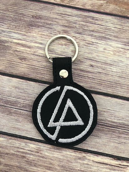 Lincoln Park Embroidered Key Chain