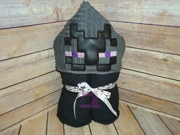 Minecraft Enderman Hooded Towel