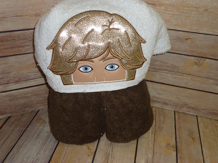 Star Wars Luke Skywalker Hooded Towel