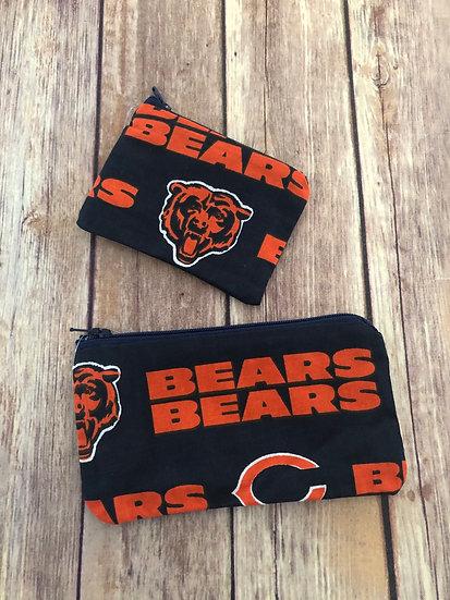 Bears Zipper Pouch - Ready to Ship
