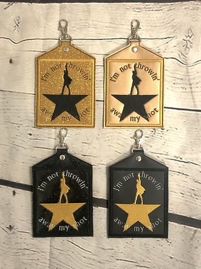 Hamilton Vaccine Card Holder - Made to Order
