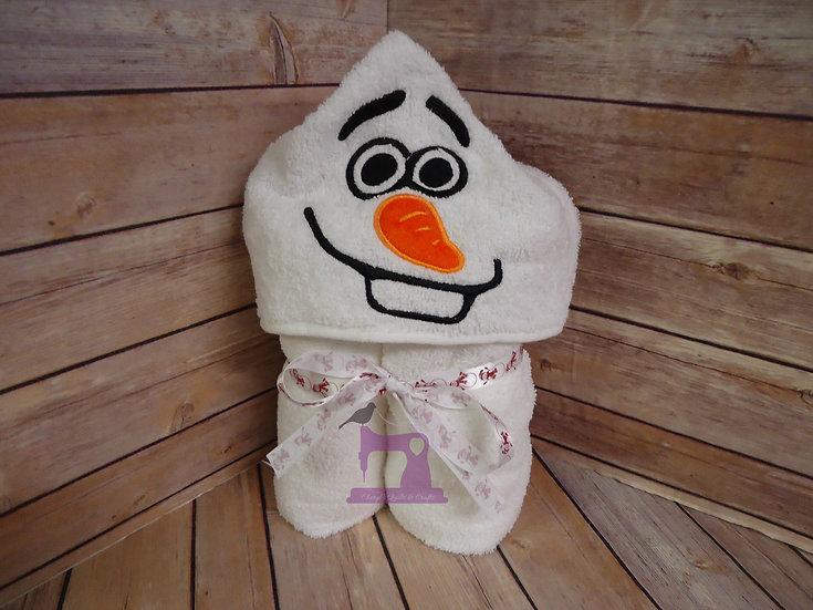Olaf Hooded Towel