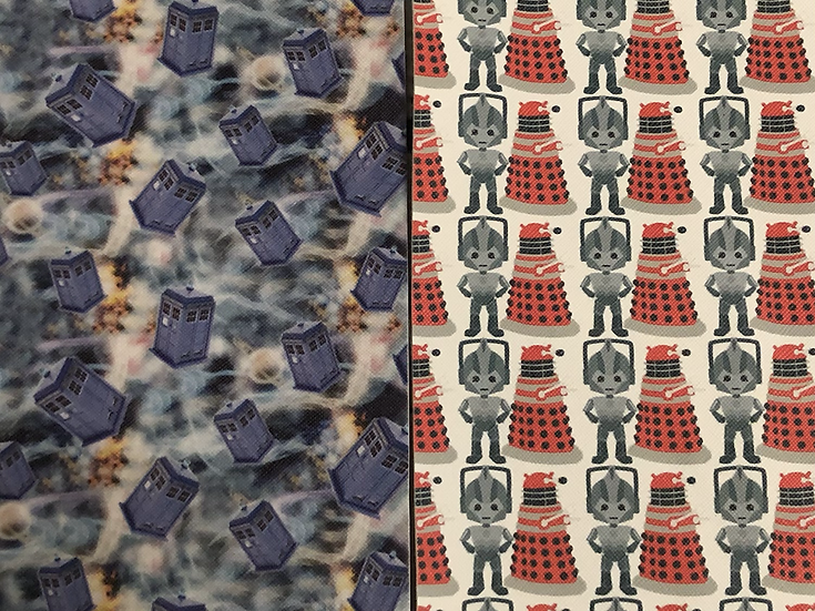 Space Dr themed Vaccine Card Holder - Made to Order