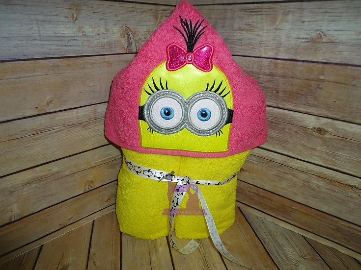Minion Marigold Hooded Towel