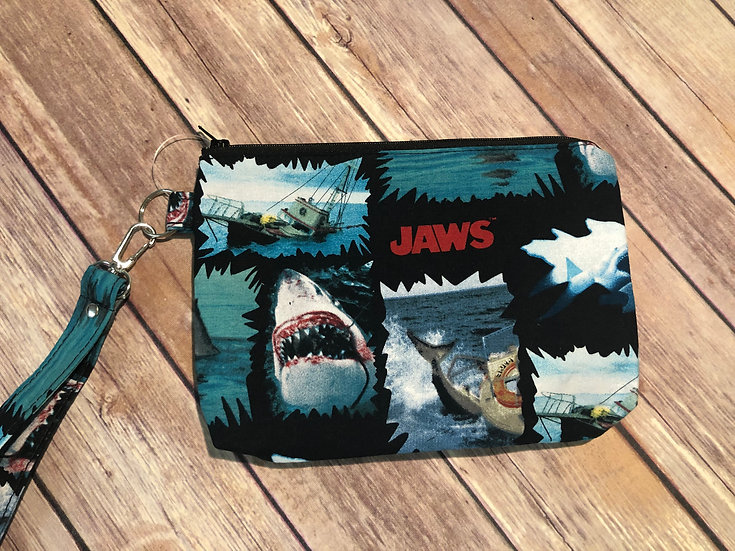 Jaws Themed Wristlet - Ready to Ship
