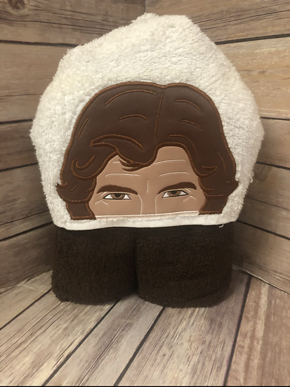 Han Solo Child Size Hooded Towel - Ready to Ship