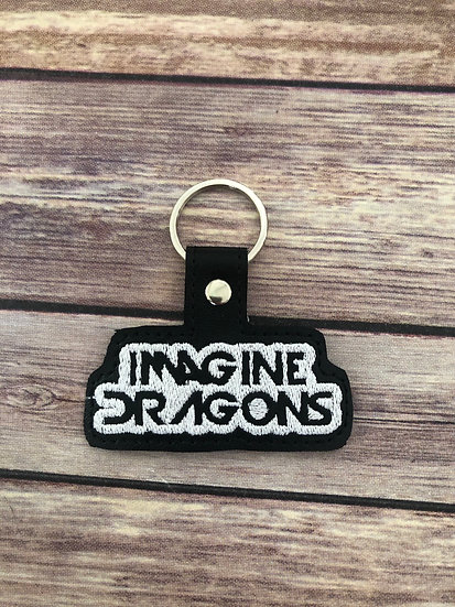 Imagine Dragons Embroidered Key Chain