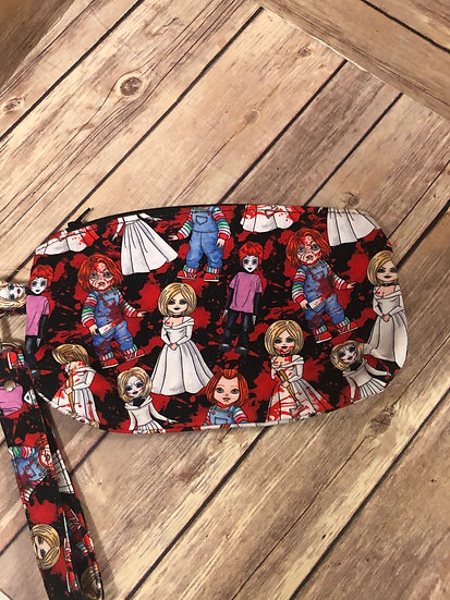 Child's Play themed Wristlet - Ready to Ship