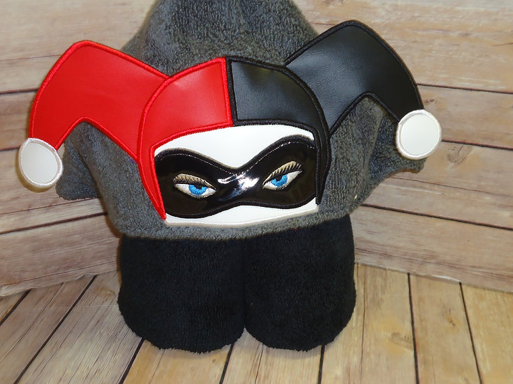 Harley Quinn 3D Hooded Towel