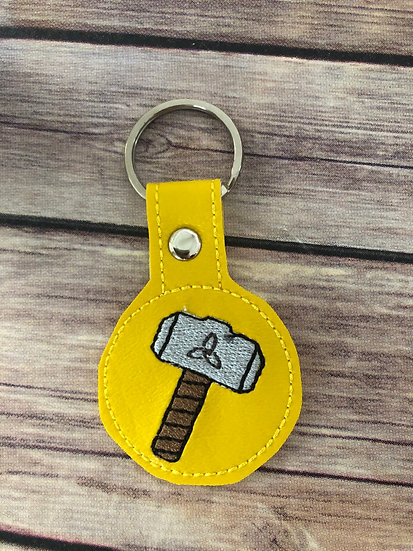 Thor Embroidered Key Chain