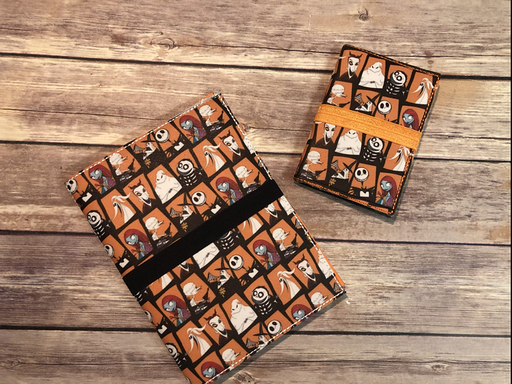 Nightmare Before Christmas Characters Notebook Keeper - Ready to Ship