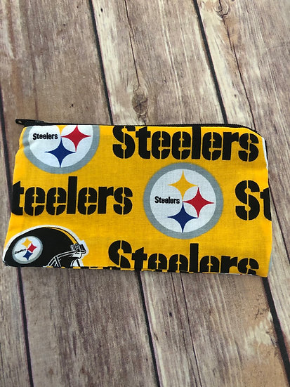 Steelers Zipper Pouch - Ready to Ship