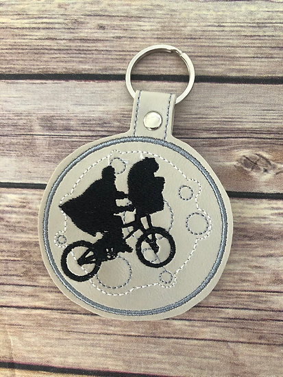 ET Embroidered Key Chain