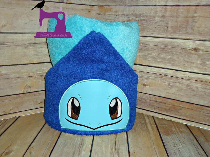 Pokemon Squirtle Hooded Towel