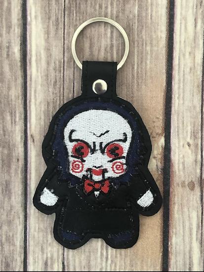 Jigsaw Chibi Embroidered Key Chain