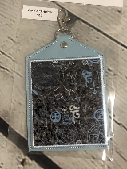 Supernatural themed Vaccine Card Holder - Ready to Ship