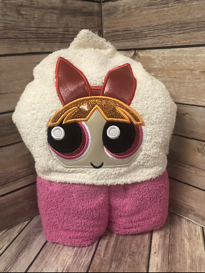 Blossom Child Size Hooded Towel - Ready to Ship