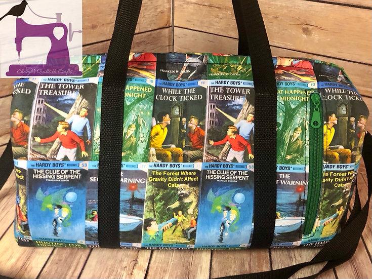 Boys Mystery Books Small Duffel Bag- Ready To Ship