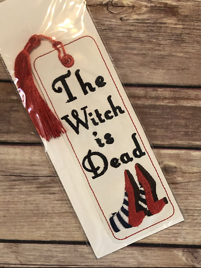 The Witch is Dead Vinyl Bookmark - Ready to Ship