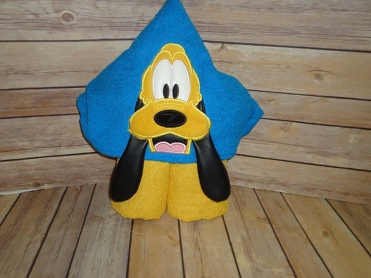 Pluto Inspired 3D Hooded Towe