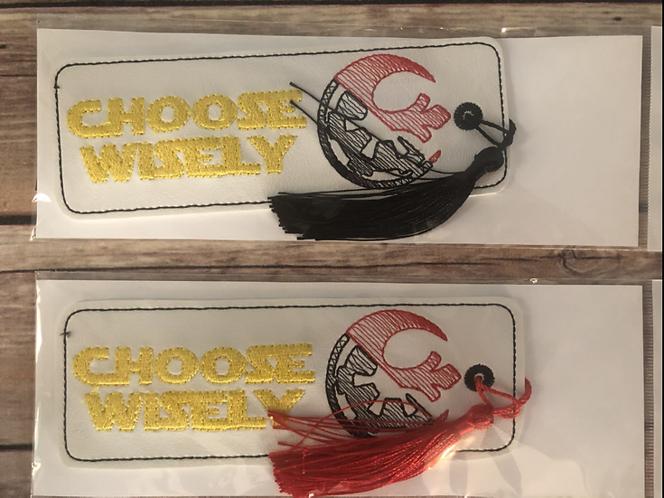 Choose Wisely Bookmark - Ready to Ship